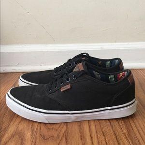 5011abcf5d6375 Vans Shoes - Vans Atwood Deluxe 10oz Canvas Black Guatemala